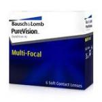 De PureVision Multifocal zijn zachte maandlenzen welke ook een additie leveren voor het leesgedeelte.