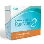 De PureVision 2HD for Astigmatism zijn maandlenzen.