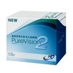 De PureVision 2HD maandlenzen zijn de vernieuwde lenzen van fabrikant Bausch & Lomb.