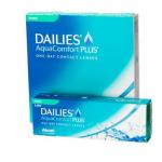 Dailies Aqua Comfort Toric corrigeren een astigmatisme aan het oog.