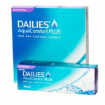 Dailies Aqua Comfort Plus Multifocal zijn multifocale daglezen die de ogen corrigeren en uw ogen een fijn draagcomfort bieden.